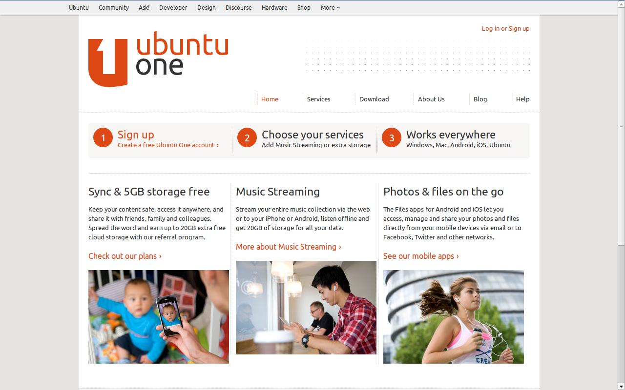Konec mraku Ubuntu One – Skončí hudba i prostor.